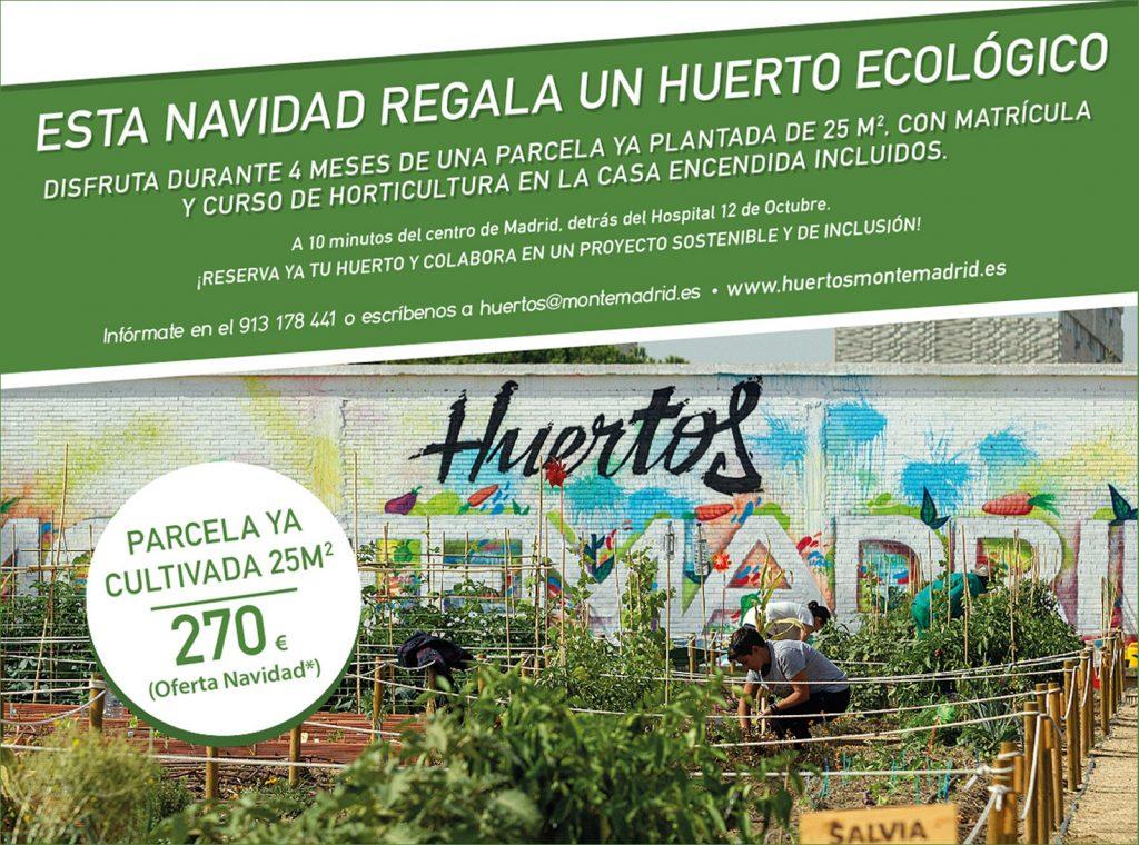 Huertos Montemadrid regalo ecologico