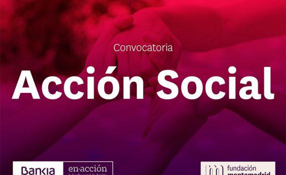 Imagen de la Convocatoria de Acción Social