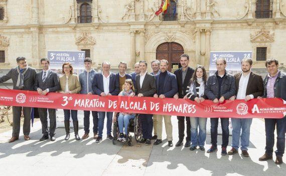 II Maratón de Alcalá. Foto @mjberrocal