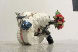 Imagen de la obra Objetos nómadas, de Elena Aitzkoa
