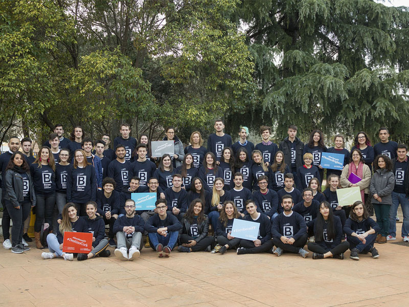 Becarios de las Fundación Montemadrid