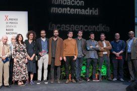 Acto de entrega del X Premio de Poesía Joven RNE y Fundación Montemadrid
