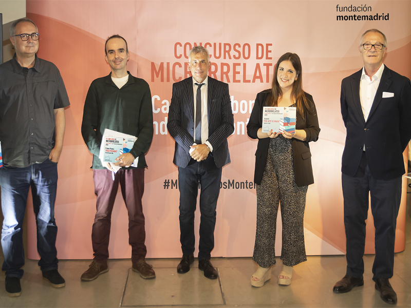 De izq. a dcha. Antonio Cortijo, Daniel Dilla, Ignacio Elguero, Elena López y José Guirao